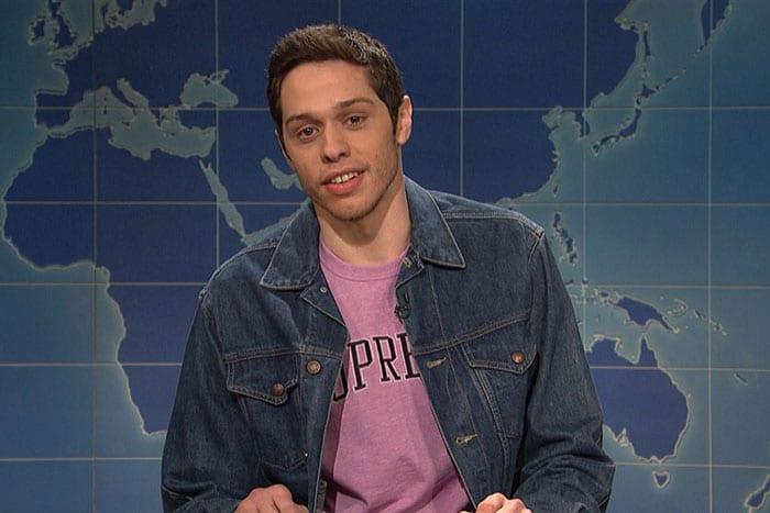 Pete Davidson addresses mental health struggles on 'SNL' with honesty and humor.
